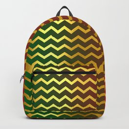 Christmas Gold Backpack