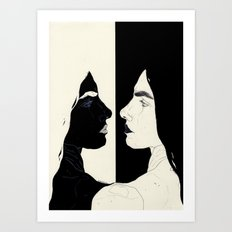 One Of Your Nightmares (I will fade) Art Print