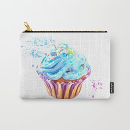Cupcake watercolor illustration Carry-All Pouch