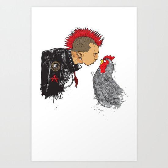 BrotherHood Art Print