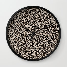 Leopard dot Wall Clock