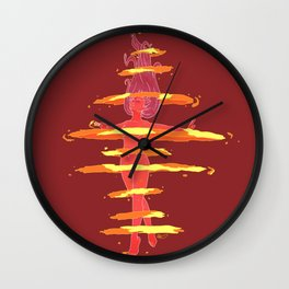 Mars Star Power! Wall Clock