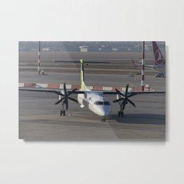 Air Baltic Bombardier Dash 8 Q400 Metal Print