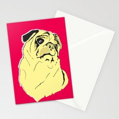 Shmoo the pug Stationery Cards
