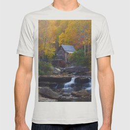 Glade Creek Mill in Autumn T-shirt