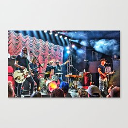 Sloan Canada Day Weekend Canvas Print