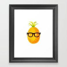 Mr. Pineapple Framed Art Print