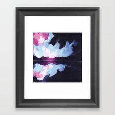 Dusk Falling Framed Art Print
