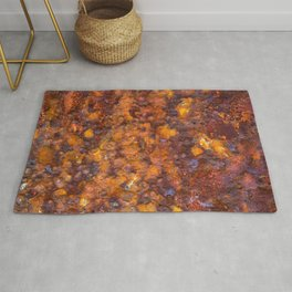 Heavy Rust Rug