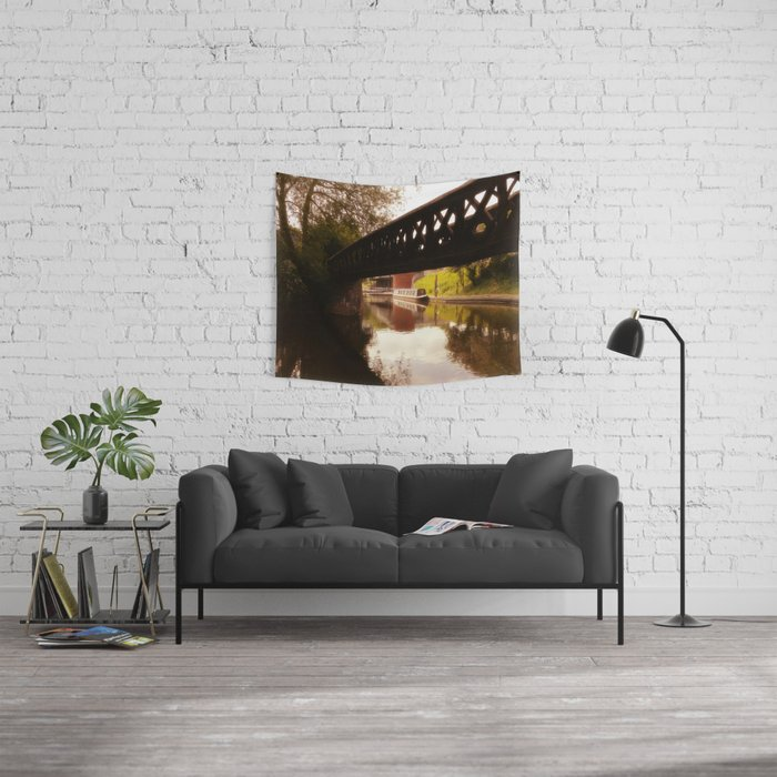 Canal Dreams Wall Tapestry
