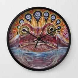 Zabka (Little Frog) 5-MEO Bufo Toad Wall Clock