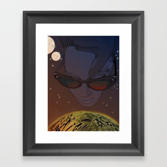 Wanda, Kisses from Planet UZU- Dawn version  Framed Art Print