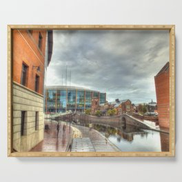 Barclaycard Arena and the Malt House Pub Serving Tray