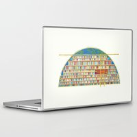 library Laptop & iPad Skins featuring Dream Library by Jet McLeod