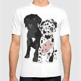 Great Dane Puppy Dogs: Olive & Oden T-shirt