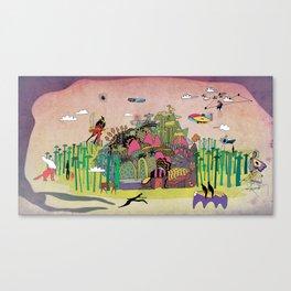 L'échapée des forets Canvas Print