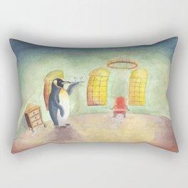 Penguin Rectangular Pillow