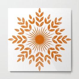 harvest sun Metal Print