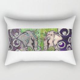 Demolishing Divinity  Rectangular Pillow