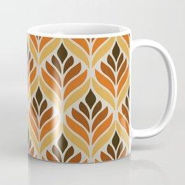 Retro Flower Pattern Coffee Mug