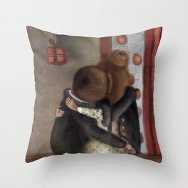 boheme der mar Throw Pillow