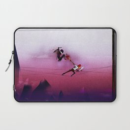 Ninja vs Pirate Laptop Sleeve