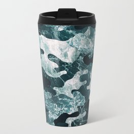 Surfing Camouflage #2 Travel Mug