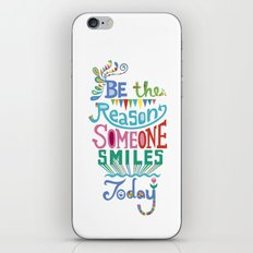 Be the Reason Someone Smiles Today iPhone & iPod Skin