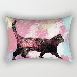 Abstract Cat Rectangular Pillow