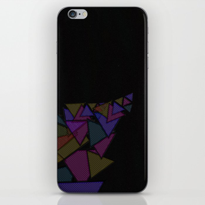 There Will Be Triangles iPhone Skin