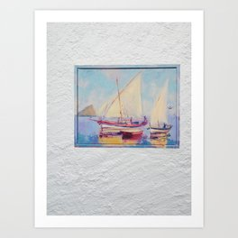 Seascape 2 Art Print