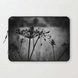 Dark autumn silhouette Laptop Sleeve