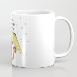 Haiku Rain Coffee Mug