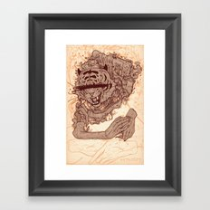 Wasting your time Framed Art Print
