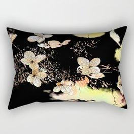 Filigrane Flower Rectangular Pillow