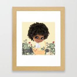 ERREGIRO BLYTHE DOLL NIPPY CATS Framed Art Print