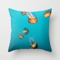 Magical Medusas Throw Pillow