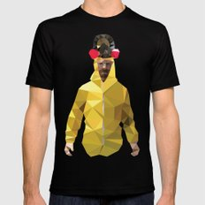 Walter White // Breaking Bad Mens Fitted Tee SMALL Black