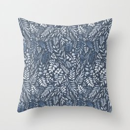 Peppermint (Essential Oil Collection) Throw Pillow