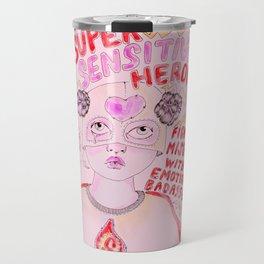 Super Sensitive Heroine Travel Mug