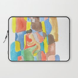 171013 Invaded Space 17  abstract shapes art design  abstract shapes art design colour Laptop Sleeve