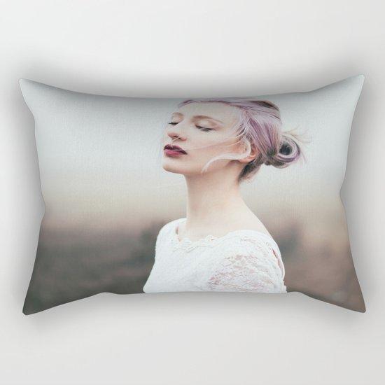 Cold and fog Rectangular Pillow