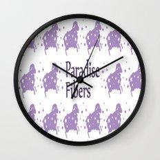Glitter Sheep Wall Clock