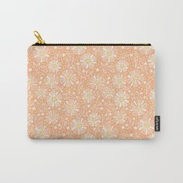 Orange Summer Blooms Carry-All Pouch
