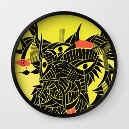 - down - Wall Clock