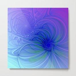fractal design -305- Metal Print