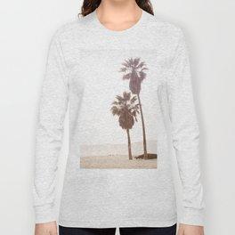 Vintage Summer Palm Trees Long Sleeve T-shirt