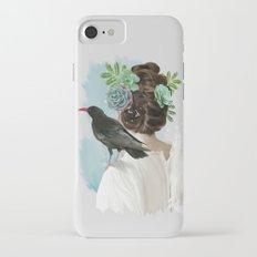 Girl&bird iPhone 8 Slim Case