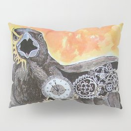 The Raven and the Serpent Pillow Sham