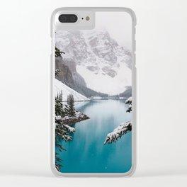 Moraine Lake Clear iPhone Case